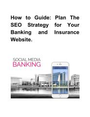 How to Guide- Plan The SEO Strategy for Your Banking and Insurance Website.pdf