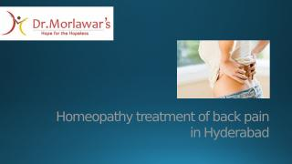 Homeopathy treatment of back pain.pptx