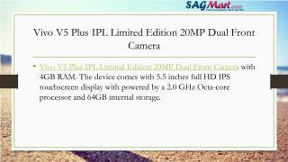 Vivo V5 Plus IPL Limited Edition 20MP Dual Front Camera.pdf