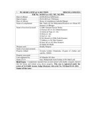 cases registered agaisnt SI Ghulam Sarwar Dreho in year -2015.doc
