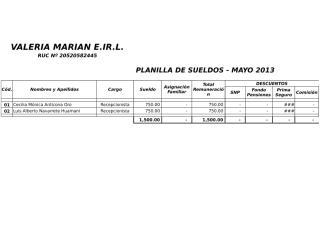 Valeria Marian EIRL 2013.xlsx