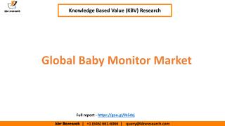 Global Baby Monitor Market.pdf