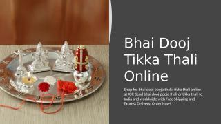 Bhai Dooj Tikka Thali Online.pptx