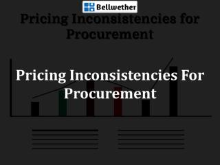 Pricing Inconsistencies For Procurement.pdf