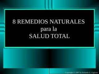 Seminario de 8 remedios naturales.ppt