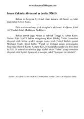 (Wafat 926H) Zakaria Al-Ansori.pdf