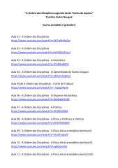 A Ordem das Discplinas segundo Santo Tomás de Aquino - Atualização 1.pdf