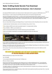 Swtor-Crafting-Guide-Secrets-Free-Download.pdf