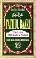 Kitab Fathul Bari Syarah Bukhari