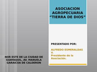 AGROECOLOGICA.pptx