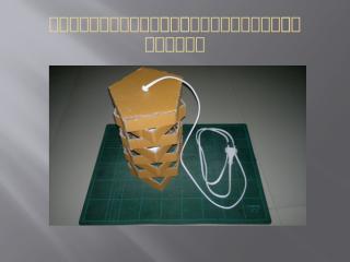 โครงงานประดิษฐ์โคมไฟจากกล่องกระดาษ.pptx