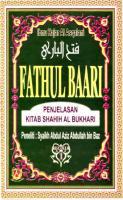 Fathul Baari Jilid 1 (Syarh Hadits Bukhari) By KitabShamela